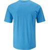 Moon Climbing M's Optical Tee Vivid Blue